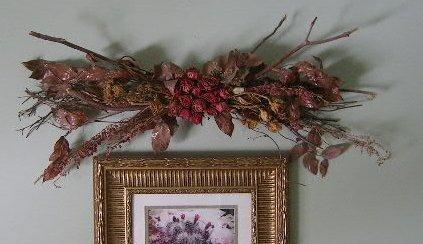 Unique Silk Floral Wall Decor